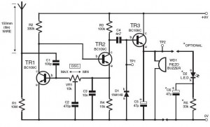 Lightning Detector Circuit  My electronic
