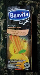 Sayur Dan Buah Bersatu Menjadi Buavita Royal Sunshine Carrot