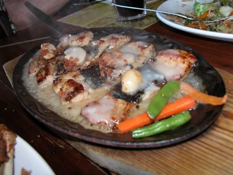 Sizzling Bangus Belly
