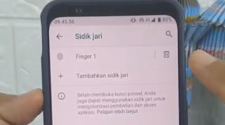 Cara Membuka paksa sidik Jari whatsapp