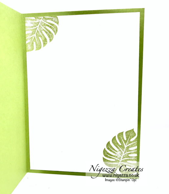 Nigezza Creates with Stampin' Up! & Tropical Chic & Tropical Oasis