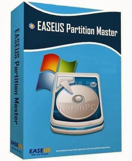 EaseUS Partition Master 10 1 + All Edition Key - Karan PC