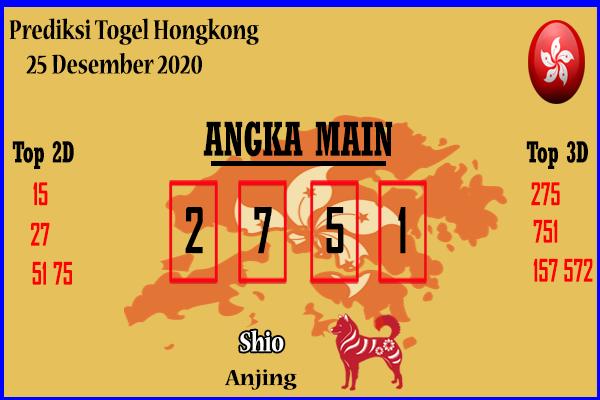 Bocoran Hongkong 25 Desember 2020