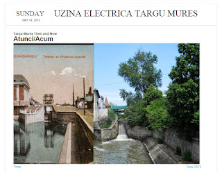 Uzina Electrica, Tirgu-Mures - Then and Now