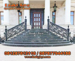 tangga besi tempa minimalis, tangga besi tempa mewah, railing tangga besi tempa, railing tangga besi tempa minimalis