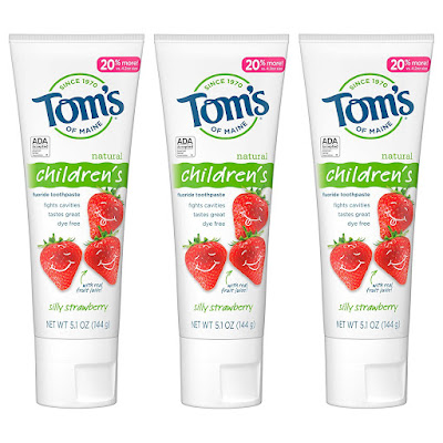 Tom's Kids Fluoride Toothpaste