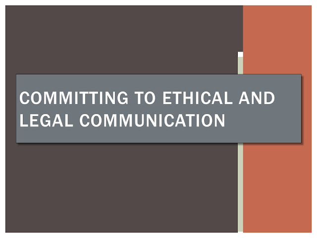 Ethical and Legal Communication - GRADUATE SCHOOL BD