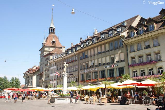 Piazza Barenplatz - Berna
