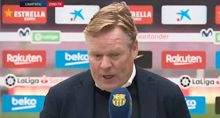 Koeman reveals he is more disappointed with the Cadiz result than PSG loss