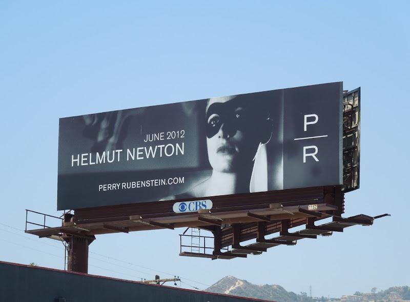 Helmut Newton 2012 billboard