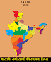 भारत के राज्यों के स्थापना दिवस --NRA CET Govt Jobs