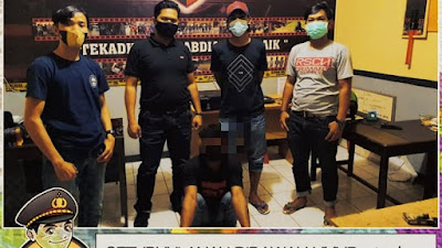"Sementara ""Ma'piong"" Terduga Pencabulan Anak Dibawah Umur Diringkus Team Batitong Maro"