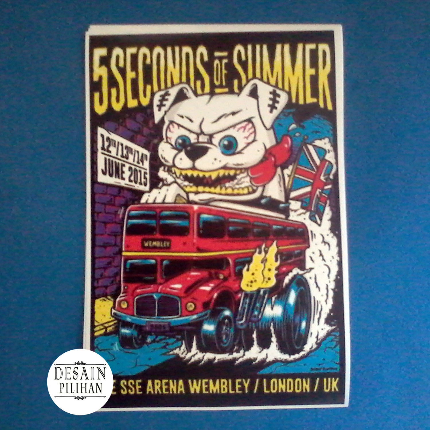 POSTER FIVE SECONDS OF SUMMER