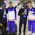 ENTERTAINMENTS: Peter Okoye Poses With Nemanja Matic, Diego Costa, Mikel!