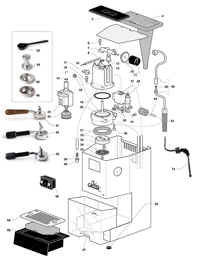 Selecta_Deluxe Rancilio Silvia Wiring Diagram on dry puck, failed heating element, power lamp, v5 espresso, pid mod, espresso machine, boiler hoses,