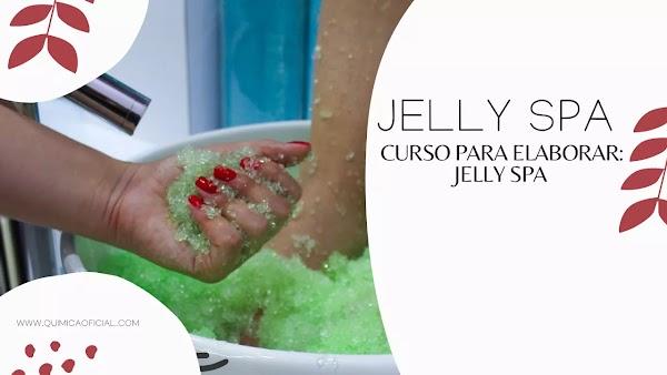 ▷ Jelly Spa Paso a Paso con Ingredientes para Pedicure