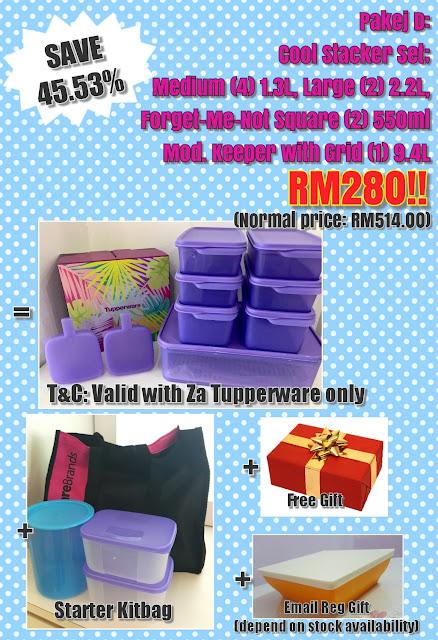 Tupperware Pakej Keahlian July 2017
