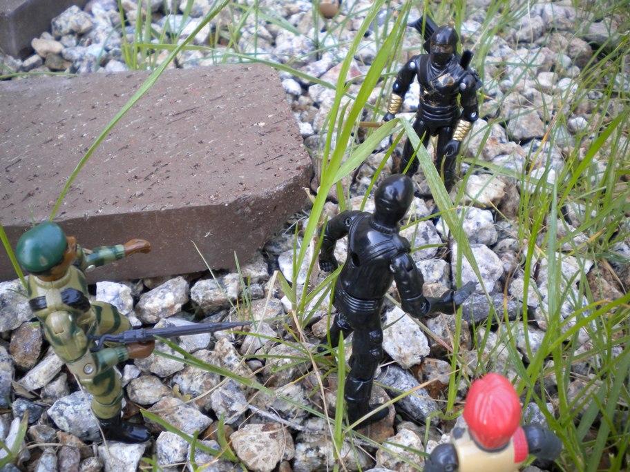 Ninja Ku, Argentina, Plastirama, Storm Shadow, Cobra Black Ninja, Rare G.I. Joe Figures, 1983 Stalker, Scarlett, Snake Eyes