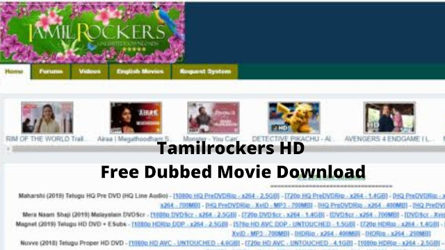 Tamilrockers HD