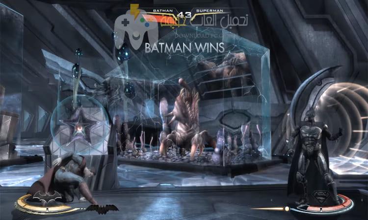 تحميل لعبة باتمان ضد سوبر مان برابط مباشر