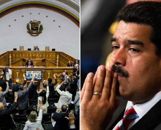 ¡SINTONIZA EN VIVO! Asamblea Nacional inicia el juicio político en contra de Nicolás Maduro