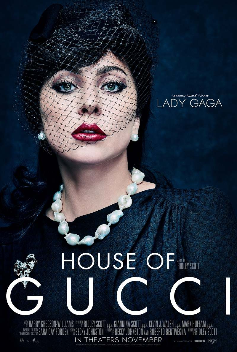 house of gucci poster lady gaga