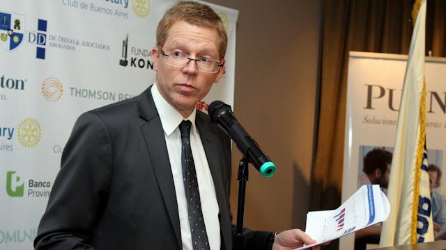 Juan Curutchet en el Ciclo de Conferencias del Rotary Club de Buenos Aires