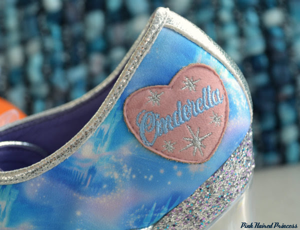 Irregular Choice Call Me Cinders outer heart detail