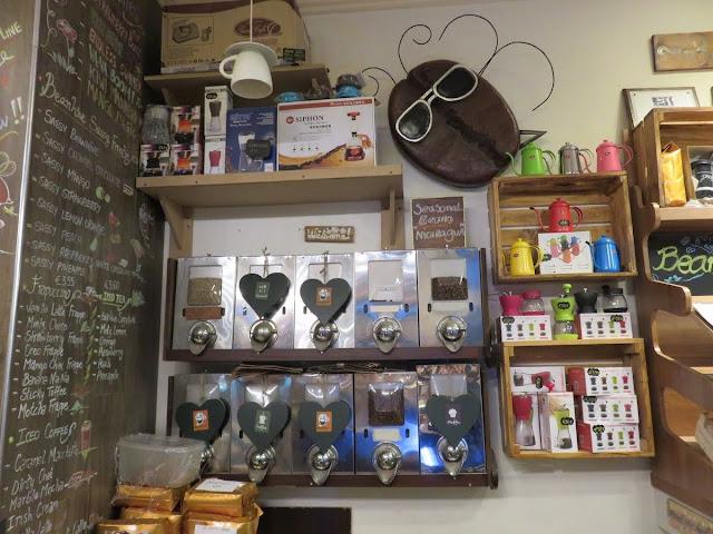 The Beanhive Coffee Shop on Dawson Street in Dublin, Ireland