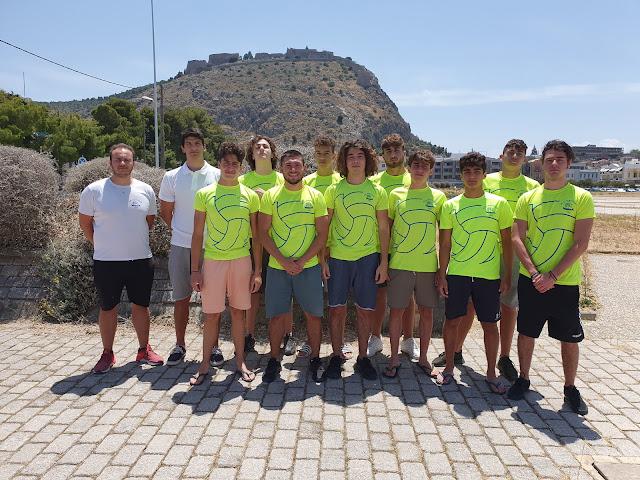 Κατάθεση ψυχής από την ομάδα Νέων Ανδρών του Ναυτικού Ομίλου Ναυπλίου