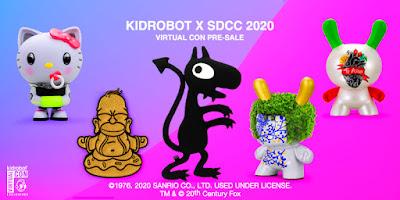 Kidrobot's San Diego Comic-Con 2020 Exclusive Vinyl Figures, Plush & Pin