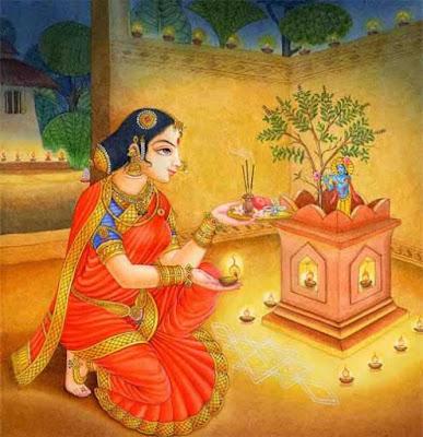 Tulsi Vishnu Puja