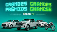 Sicoob CAP Cota de Prêmios Grandes Chances Grandes Prêmios sicoobcap.com.br