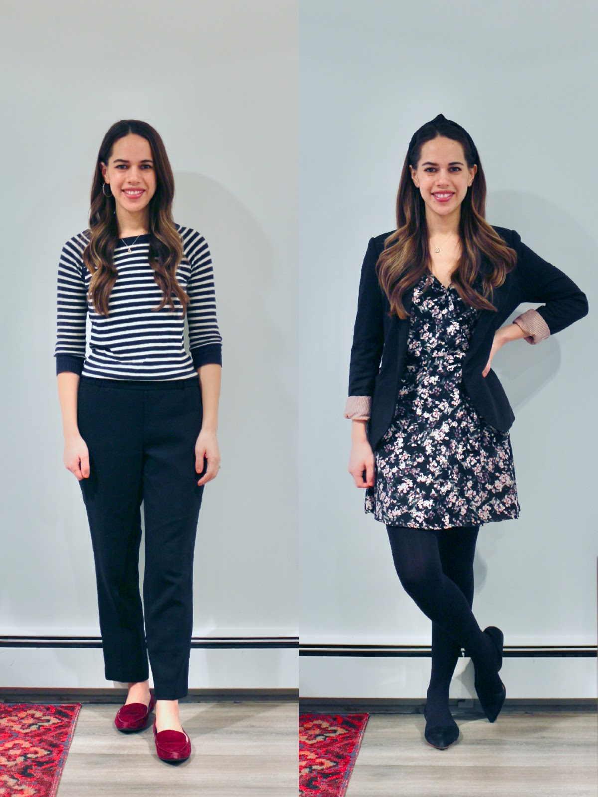 Jules in Flats - January Outfits Week 3 (Business Casual Winter Workwear on a Budget)