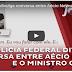 Polícia Federal divulga conversa entre Aécio Neves e o ministro Gilmar Mendes