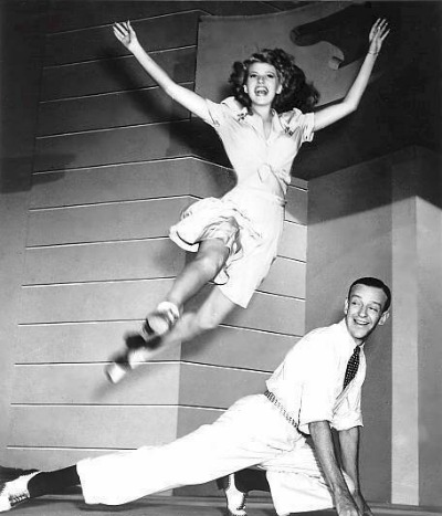 "Rita Hayworth and Fred Astaire in ""You Were Never Lovelier"" 1942"