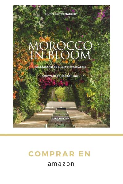 libro sobre Marruecos, sus jardines y flores. Morrocco gardens and blooms book