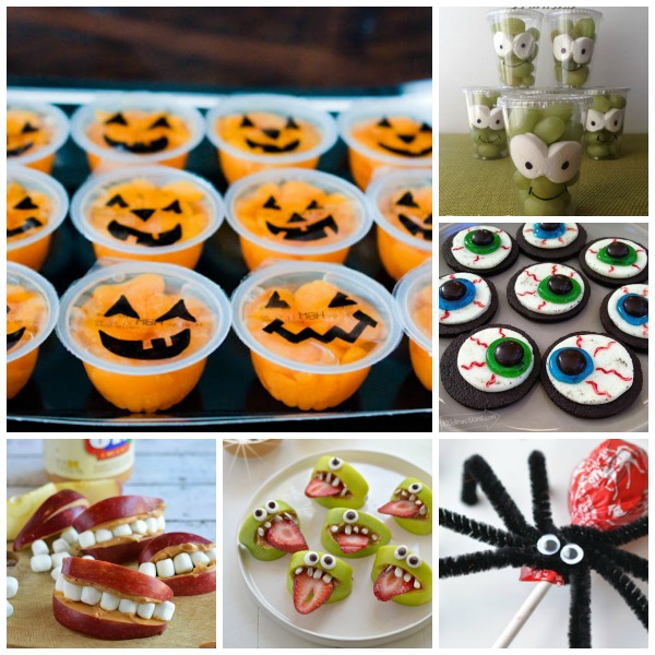 easy adorable halloween treat ideas for kids great for class parties and lunchbox surprises - Great Halloween Appetizers