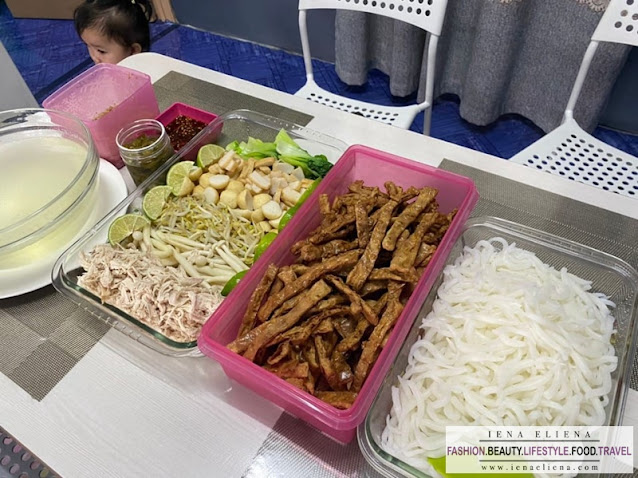 Resepi Lou shu fun soup | Mee Tikus | Laksa Pendek