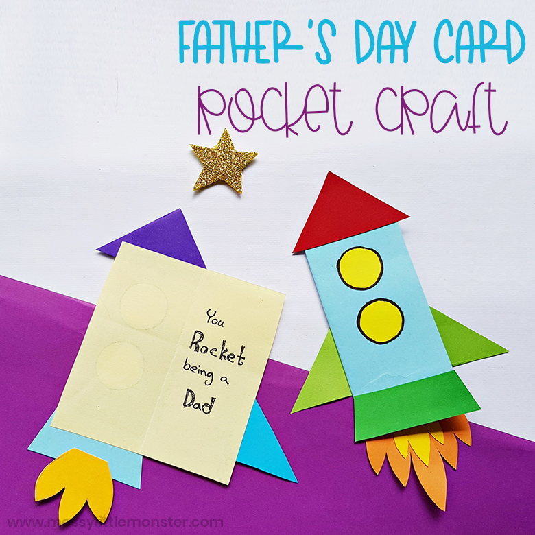 Father's Day Rocket Craft