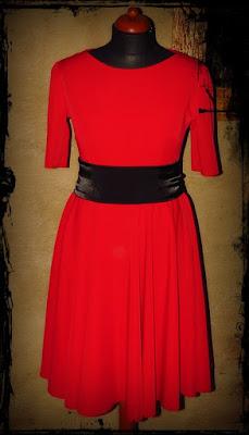 Lady in red – sukienka