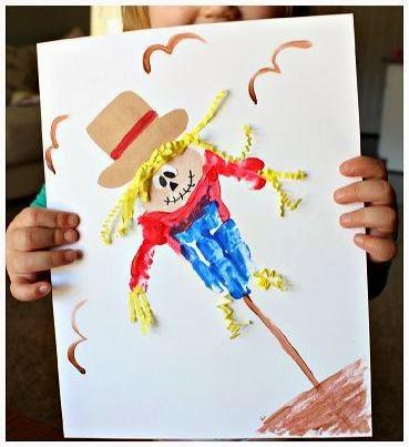 Cara Membuat Kerajinan Tangan Yang Mudah Untuk Anak - Lukisan Boneka Sawah 3