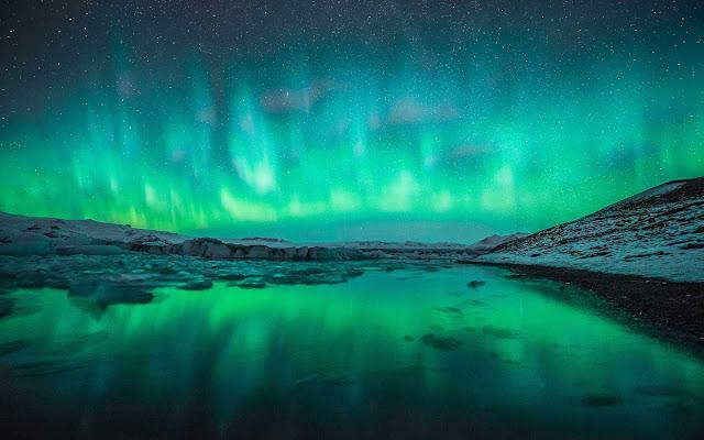 northern lights wallpaper aurora