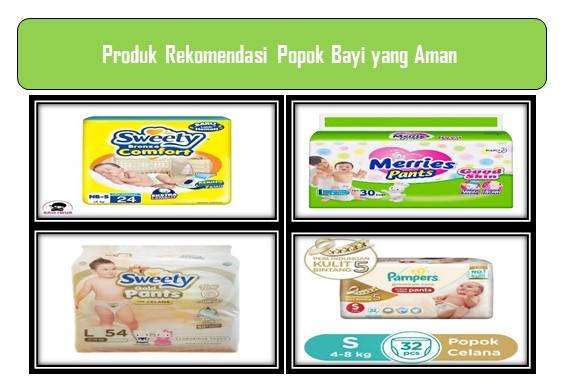 Produk Rekomendasi Popok Bayi yang Aman