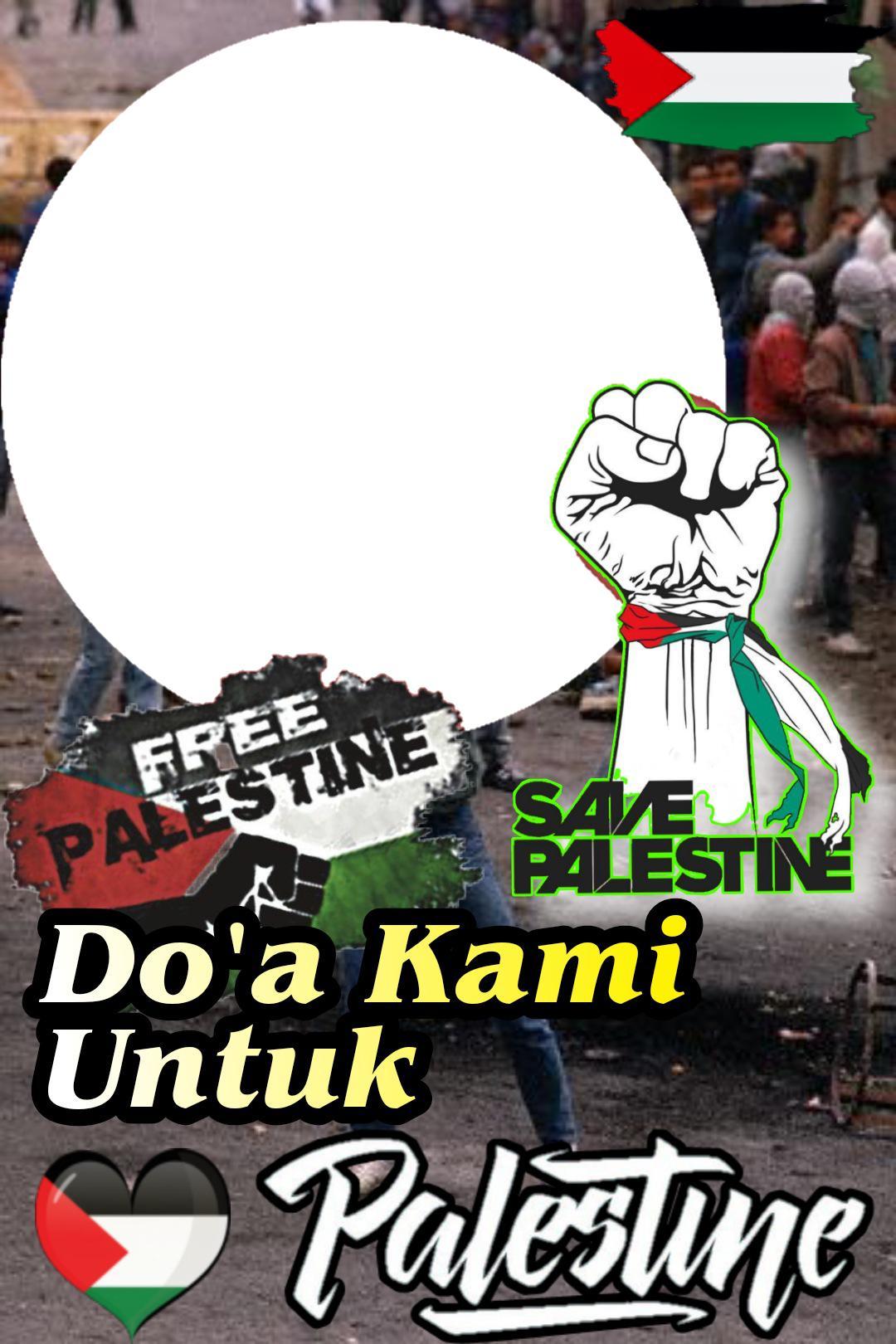 Download Twibbon Save Palestina untuk Istragram
