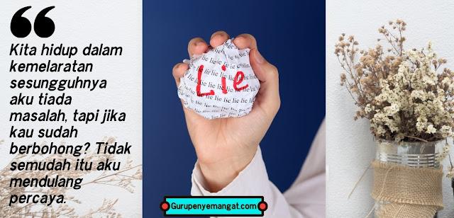 Kata-kata Bijak untuk Suami Pembohong
