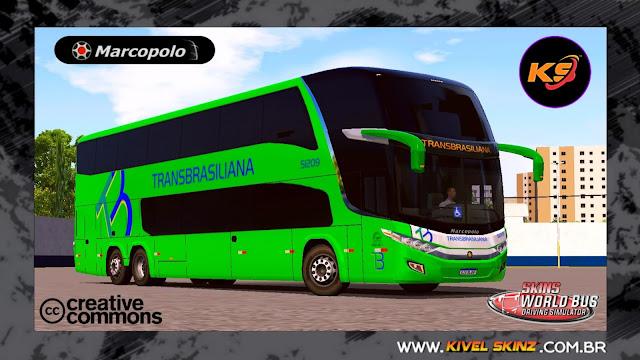 PARADISO G7 1800 DD 6X2 - VIAÇÃO TRANSBRASILIANA