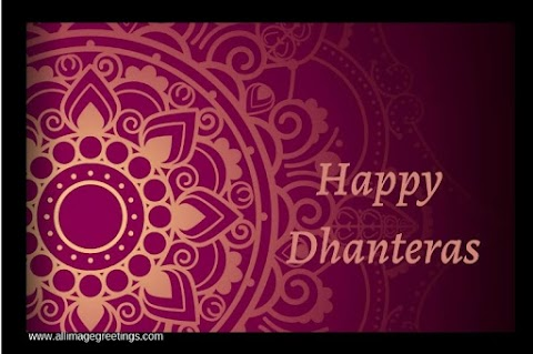 Dhanteras 2021 Images,  Pictures, Whatsapp Status, Wishes, Messages,  Quotes, Greetings.