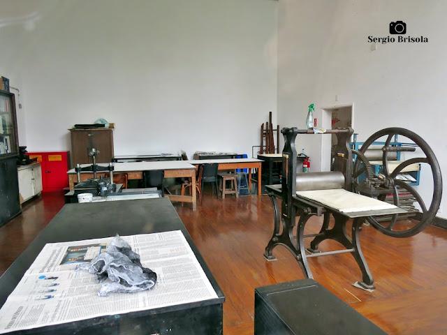Vista do Ateliê do Museu Lasar Segall - Vila Mariana - São Paulo