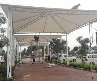 Tenda Membrane Atau Kanopi Membrane Jakarta Selatan